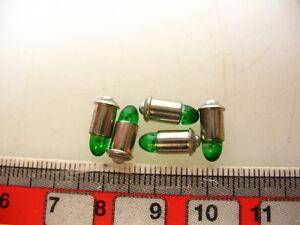 5 Stk LED-MS4, 16-22 V GRÜN z.B. für Märklin Zubehör #LED7-GR