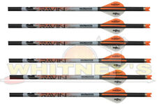 Ravin Crossbow Xbow Archery Bolts With Orange nock .001 Straightness 6 pack R139