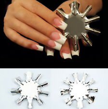 Hot False Nail Form Line Edge Trimmer Easy French Nail Cutter Manicure Stencil