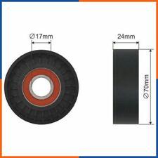 Galet tendeur de courroie d'accessoire pour AUDI | V85578, T38436, VKM31054