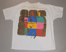Vintage 1992 U2 Zoo Tv Tour Outside Broadcast T-Shirt! Graphics Front 7 Back! Xl