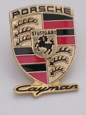 Porsche Cayman Lapel Tie Pin Badge