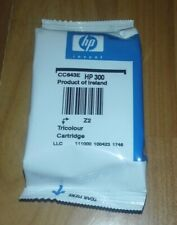 GENUINE HP 300 CC643EE TRI COLOUR INK CARTRIDGE. DATE UNKNOWN, NEW & SEALED PACK