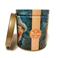 """Vintage1996 Olive Can Co 4"""" Art Tin Container Canister Museum Masters Van Gogh"""