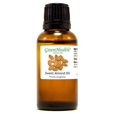 1 fl oz Sweet Almond Carrier Oil (100% Pure & Natural) - GreenHealth
