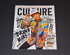 Culture Magazine Bruno Mars Feb 2018 Issue Jeezy Esports Mark Huff New Rare