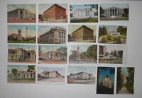 LOT OF 17 EARLY  WASHINGTON DC  ANTIQUE  POSTCARDS BUILDINGS ARCHITECTURE