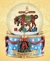 Breyer 700234 Sweet Holidays Musical Snow Globe (Modellpferd)