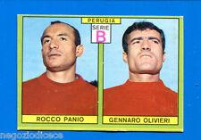 CALCIATORI PANINI 1968-69 - Figurina-Sticker - PANIO-OLIVIERI PERUGIA -Rec