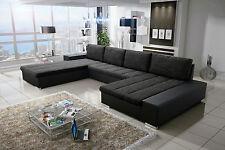 Couch Couchgarnitur Sofagarnitur VERONA 3 U Wohnlandschaft Sofa Schlaffunktion
