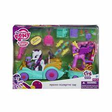 My Little Pony Princess Celebration Cars Set with Sparkle, Spike, & Rarity  NEW