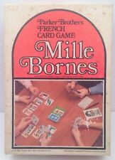 Vintage Parker Brothers Mille Bornes French Card Game