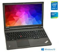 "Lenovo ThinkPad W540 Core i7-4800MQ QUAD 16GB RAM 256GB SSD 15,6"" FHD IPS A+"