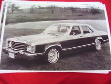 1976 FORD GRANADA GHIA SEDAN    BIG 11 X 17  PHOTO /  PICTURE