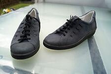 COMFORTABEL Damen Comfort Sommer Schuhe Einlagen Schnürschuhe Gr.37 Leder NEU +9
