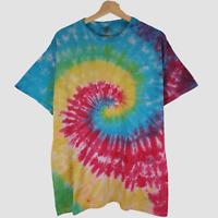 Tie Dye SKULL handmade goth tie dye T shirt UNISEX ALL SIZES S-5XL