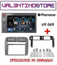 AUTORADIO 2DIN PHONOCAR VM069 BT/USB/SD/AUX/NAVI+KIT MASCHERINA GRANDE PUNTO