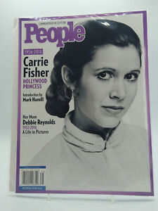 CARRIE FISHER HOLLYWOOD PRINCESS 2016 People Magazine Commemorative Edition