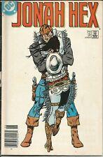 DC JONAH HEX SWEETHEART OF THE RODEO JUNE 1985 COMIC BOOK MAGAZINE
