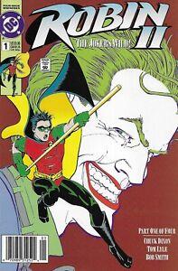 Robin II Comic 1 Copper Age First Print 1991 Chuck Dixon Tom Lyle Smith DC