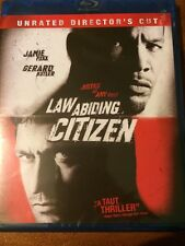 Law Abiding Citizen (Blu-ray Disc, 2010 Rated/Unrated Director's Cut) BRAND NEW