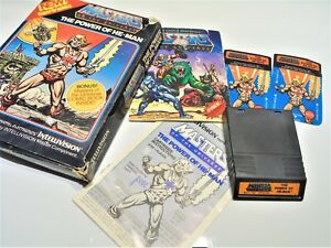 Masters of the Universe The Power of He Man Intellivision Video Game System #U96