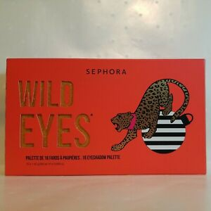SEPHORA COLLECTION Wild Eyes Eyeshadow Palette, Limited Edition (16 x 0.78 oz)