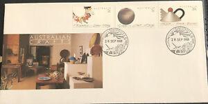 Australia FDC 1988 Australian Crafts