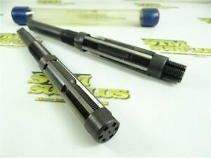 """PAIR OF HSS ADJUSTABLE BLADE REAMERS SIZES """"G"""" & """"H"""" CLEVELAND"""
