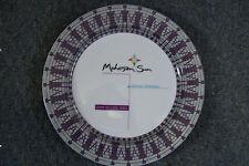 "Mohegan Sun Collectors Plate Grand Opening June 21 - 23 2002 12"" Platter - Delco"