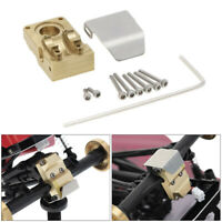 For 1/24 Axial SCX24 90081 RC Car Parts Brass Diff Cover Counterweight Cover