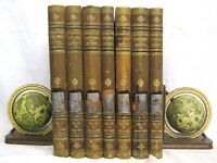 Character Sketches of Romance Fiction and the Drama 1896 - 7 Vintage Book Set