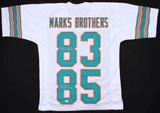 "Mark Clayton & Mark Duper Signed ""Marks Brothers"" Dolphins Jersey (JSA COA)"
