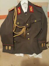 Uniform Hemd Fasching DDR Tranzport Polizei Schulterstücke Schützenschnurr Stern