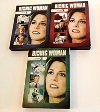 BIONIC WOMAN DVD (LOT OF 3) SEASON 1, SEASON 2, AND SEASON 3 (BOX SETS)
