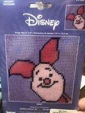 Piglet Tapestry/needlepoint Kit Janlynn Disney 5X5