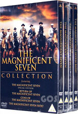 The Magnificent Seven Boxset Collection Return Of Guns Ride 4 DVD Films New