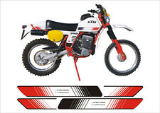 KTM GS/MX/RV  cristal - adesivi/adhesives/stickers/decal