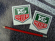 Tag heuer stickers 7cm F1 classic grand prix mclaren williams ferrari lotus