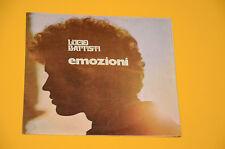 """BATTISTI 7"""" 45 (NO LP ) EMOZIONI 1°ST ITALY BEAT 1970 EX SOLO COPERTINA"""