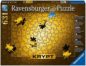 Ravensburger Krypt Puzzle Gold 631 Piece Puzzle - Brand new sealed - Ships FREE!