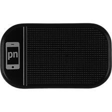 PhoneNatic Anti-Rutschmatte Schwarz - Stickypad Klebematte 144 x 83 mm