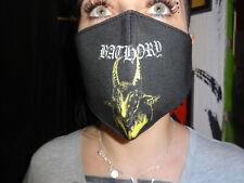 Bathory Mund und Gesichtsmaske Behelfsmaske Waschbar Baumwolle Venom Black Metal