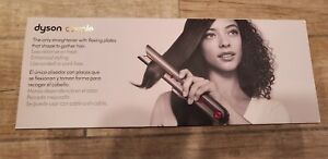 Brand New Dyson Corrale Hair Straightener - Black Nickel/Fuchsia NIB