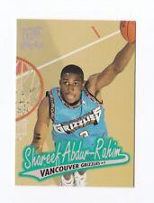 1996-97 Ultra #116 Shareef Abdur-Rahim RC Vancouver Grizzlies Cal