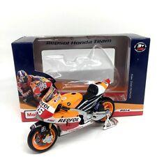 MAISTO 1:18 REPSOL HONDA RC213V 2014 DANI PEDROSA Moto GP Model Racing Motor