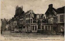 CPA MILITAIRE Guerre-Bergues aprés le bombardement (317073)