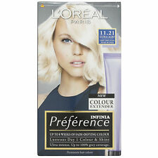 L'Oreal Recital Preference 11.21 Ultra Light Very  Very Light Pearl Blonde