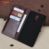 Luxury Genuine Leather Wallet Flip Case Stand Cover For Huawei Mate 9 Pro