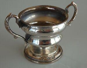 Miniature sterling silver 'trophy'.Birmingham 1903.